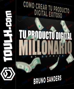 Descargar Curso Tu Producto Digital Millonario – Bruno Sanders